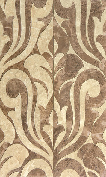 Saloni brown 01 Декор 30х50 декор venus ceramica aria cenefa beige 3x50