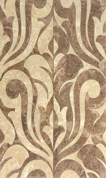Saloni brown 01 Декор 30х50