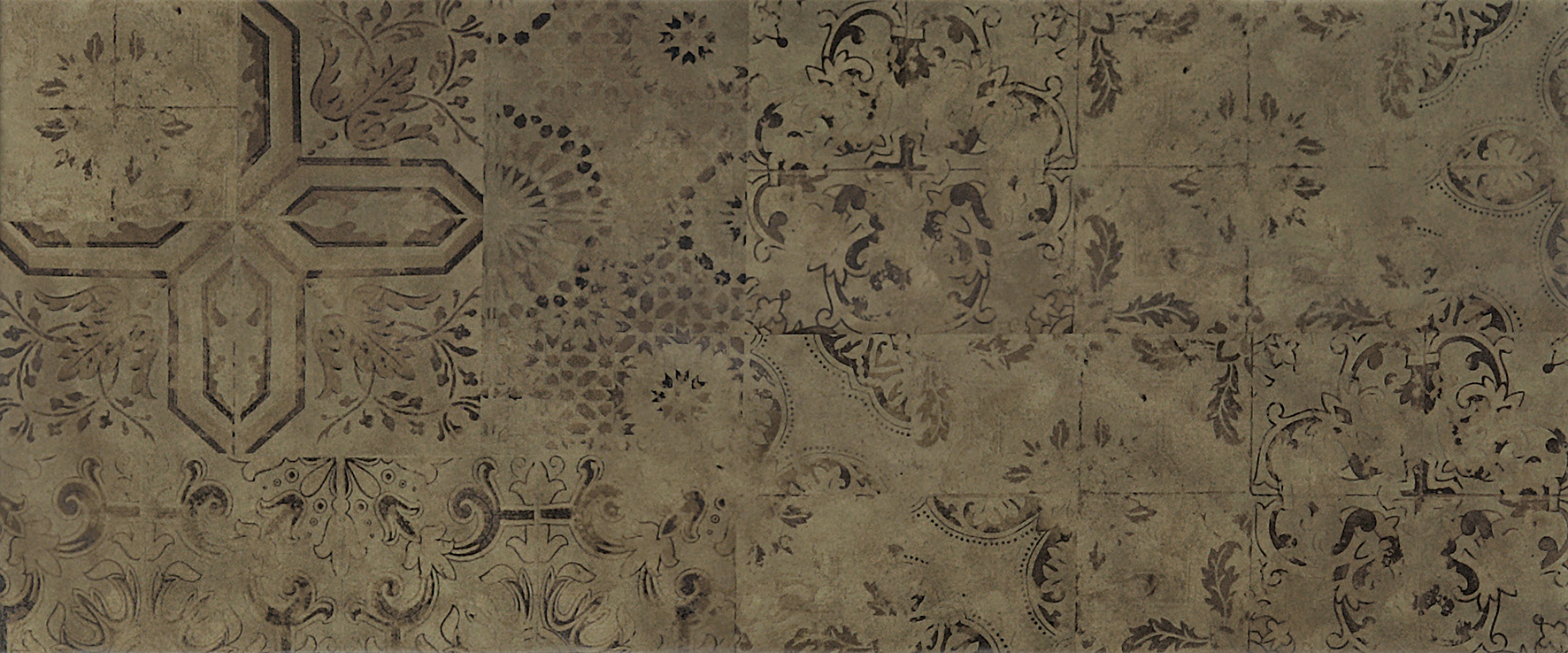 Patchwork brown Плитка настенная 03 25х60 настенная плитка gracia ceramica corso brown pg 01 15x60