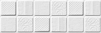 Provenza white Плитка настенная 01 10х30 настенная плитка venus ceramica terrace white 44x66