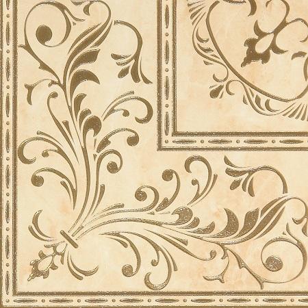 Palladio beige decor PG 01 450х450 мм - 4 шт. gracia ceramica saloni brown pg 03 v2 45x45