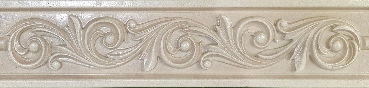 Сlassic beige Бордюр 02 6х25 бордюр gracia ceramica normandie beige border 02 50x7 5