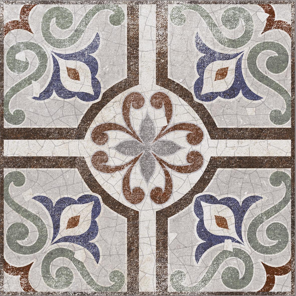 Emilia multi Плитка настенная 01 20х20 плитка настенная капри 20х20 см 1 04 м2 цвет зелёный
