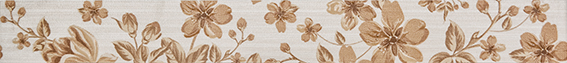 Fabric beige Бордюр 01 6,5х60 декор venus ceramica aria cenefa beige 3x50
