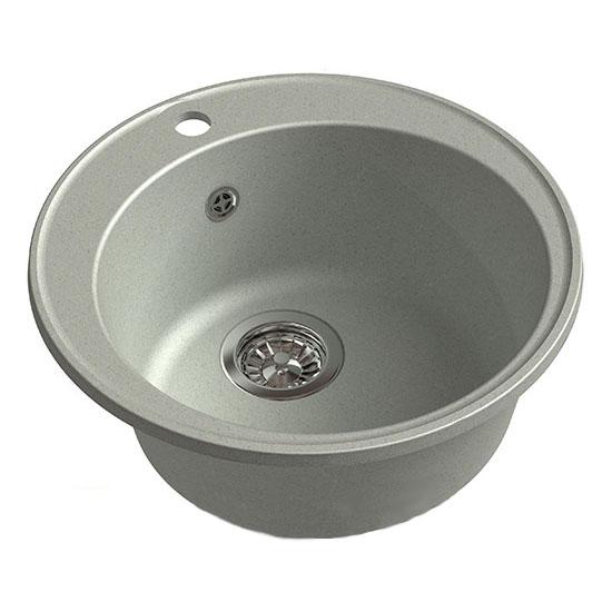 Кухонная мойка GranFest Eco 08 серый цена