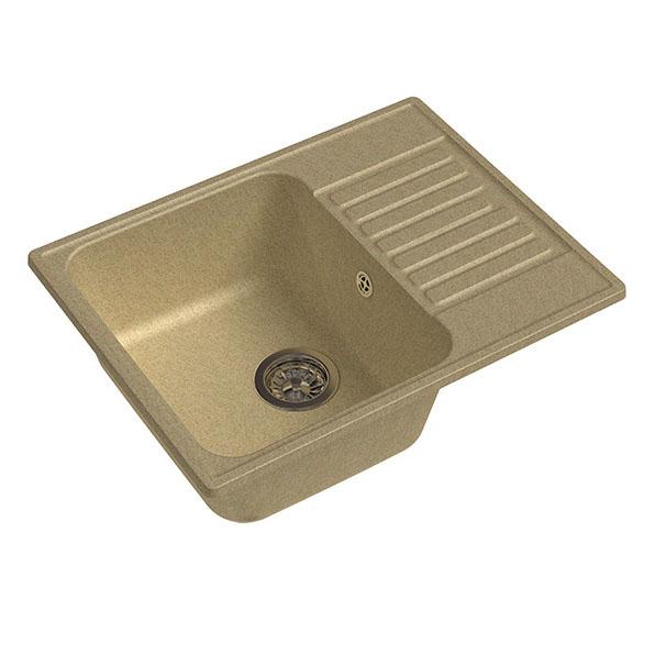 Кухонная мойка GranFest Eco 13 бежевый мойка кухонная teka cabrera 45 b tg бежевый 88999