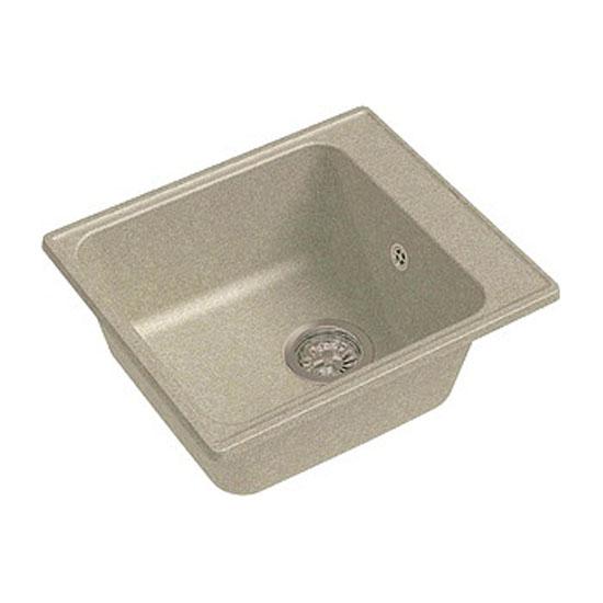 Кухонная мойка GranFest Eco 17 песок кухонная мойка teka classic 1b 1 2d microtex