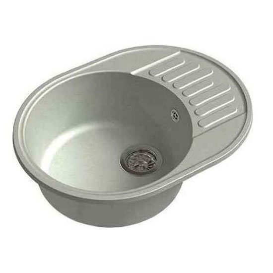 Кухонная мойка GranFest Eco 58 серый цена