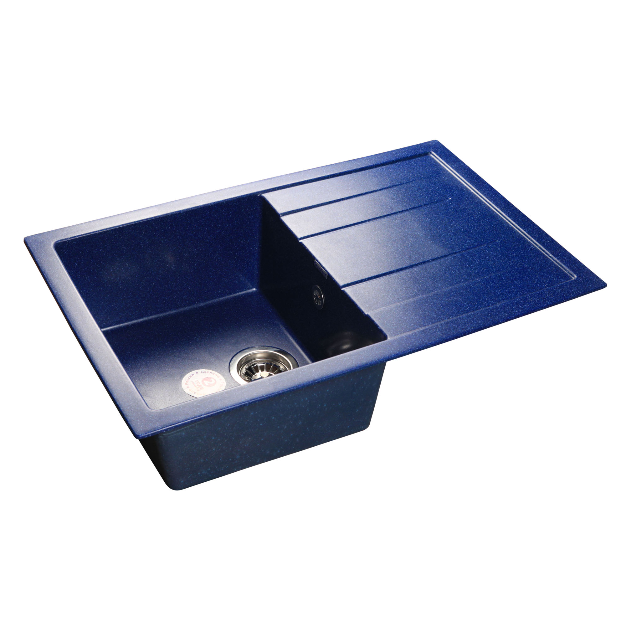 Кухонная мойка GranFest Quadro GF-Q780L синий цена