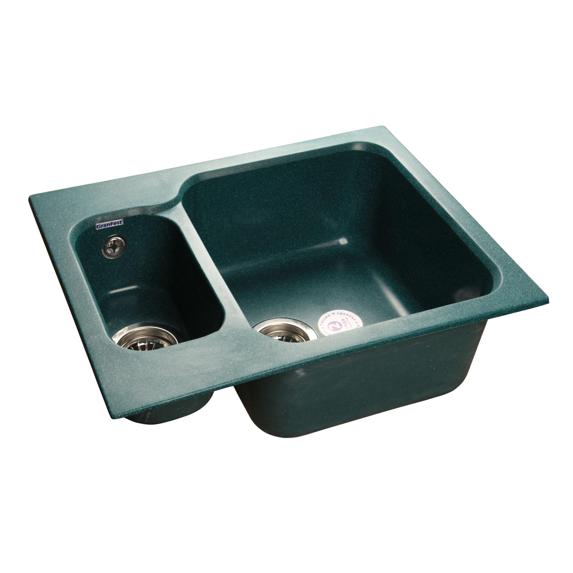 Кухонная мойка GranFest Standart GF-S615K зеленый стоимость