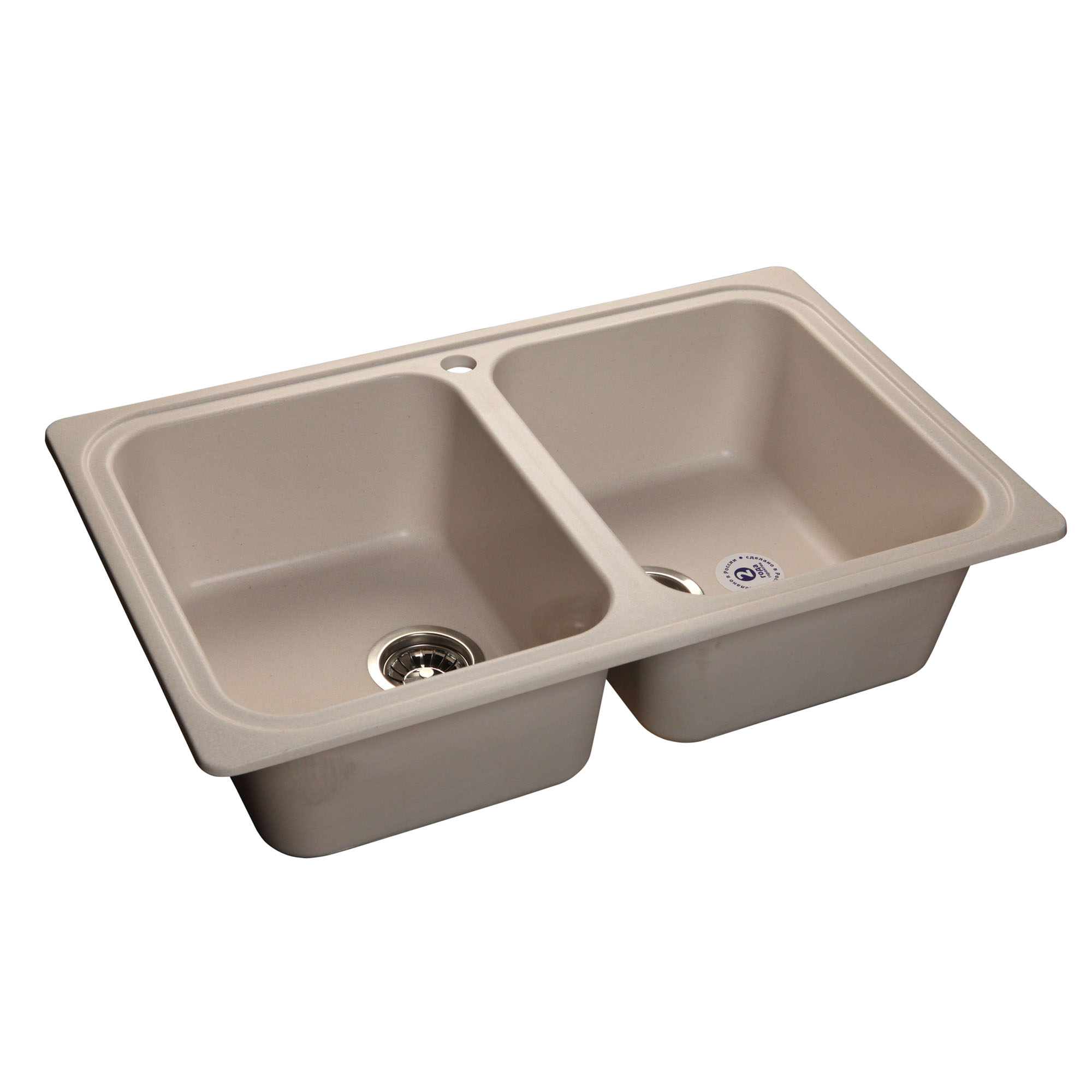 Кухонная мойка GranFest Standart GF-S780K белый мойка кухонная granfest гранит 780x510 gf s780k бежевая