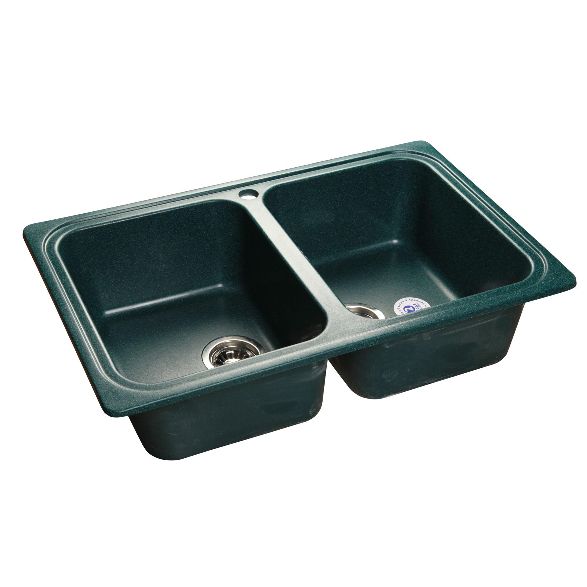 Кухонная мойка GranFest Standart GF-S780K зеленый атс ip yeastar standart