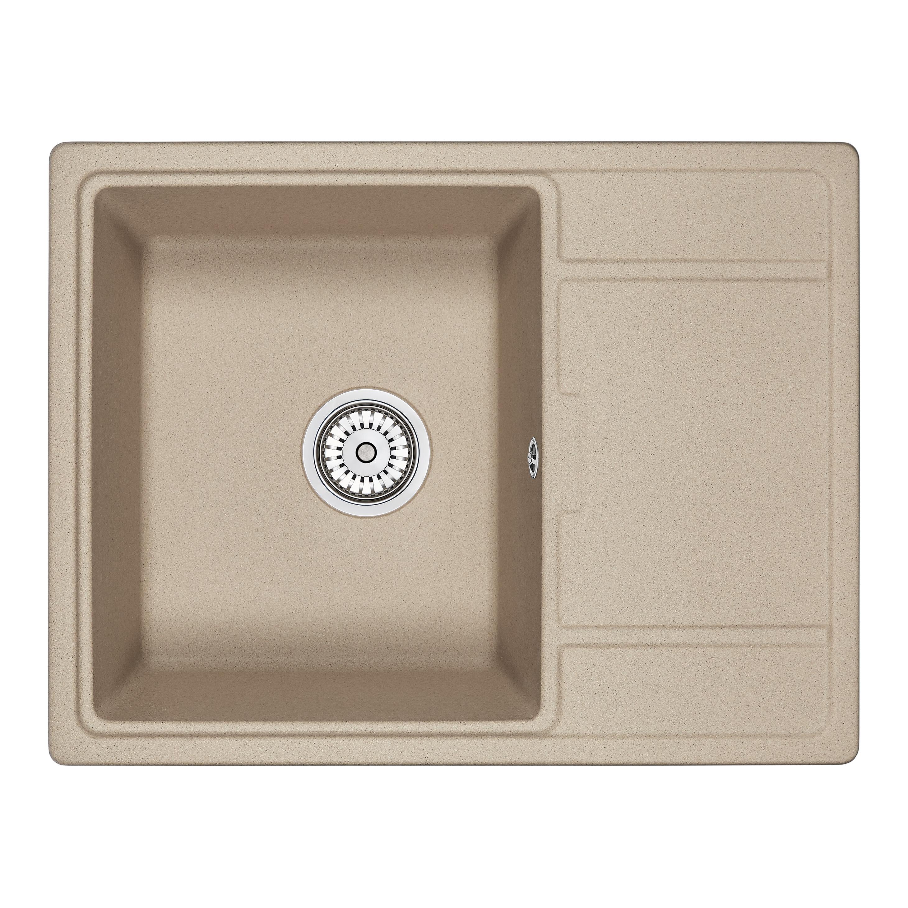 Кухонная мойка Granula GR-6503 650х500 песок цена