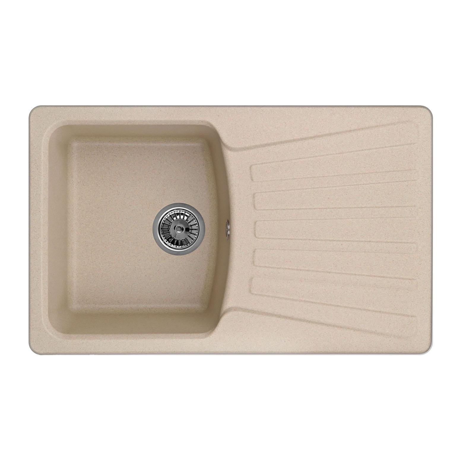 Кухонная мойка Granula GR-8001 790х500 песок кухонная мойка granula gr 8001 790х500 брют