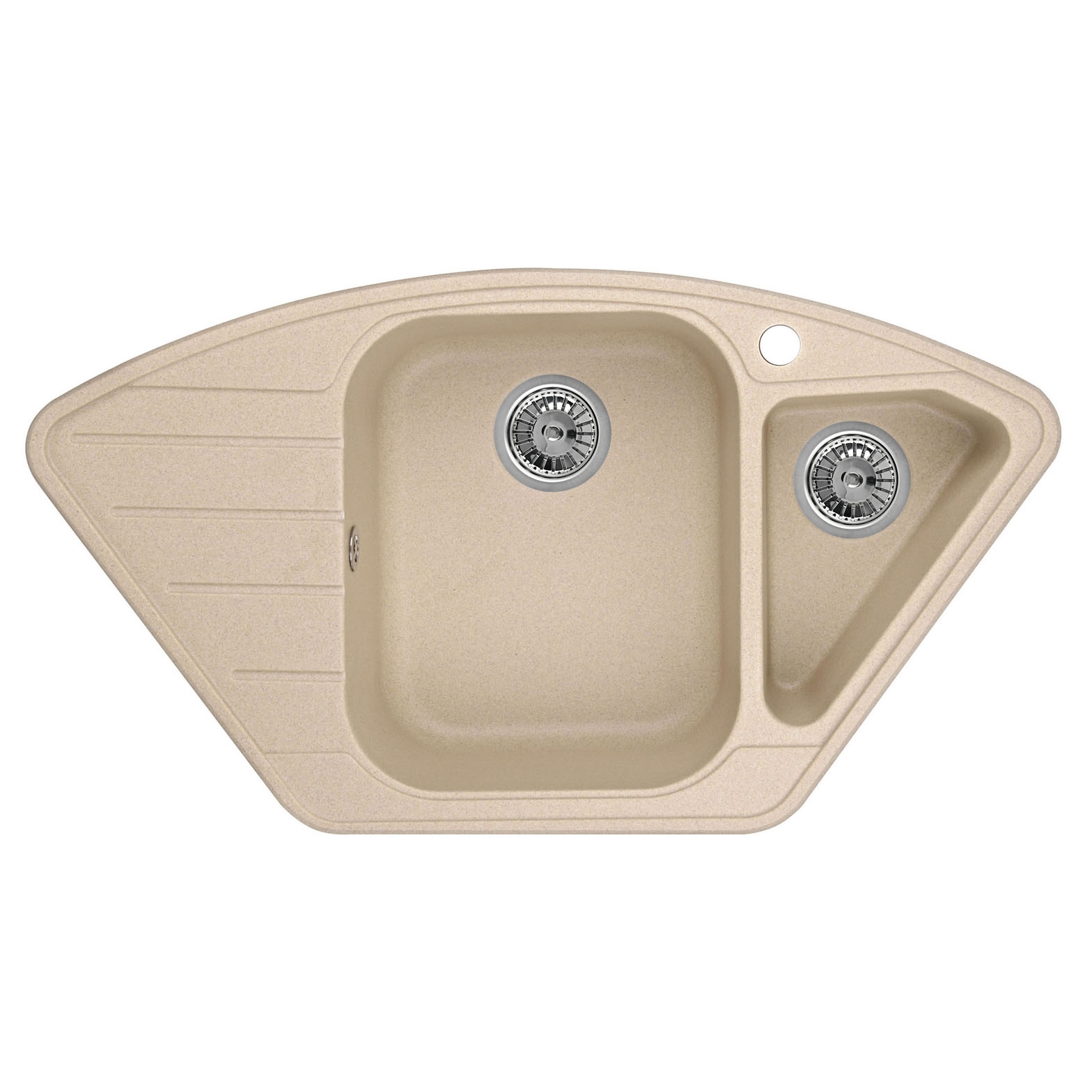 Кухонная мойка Granula GR-9101 890х490 песок посуда кухонная