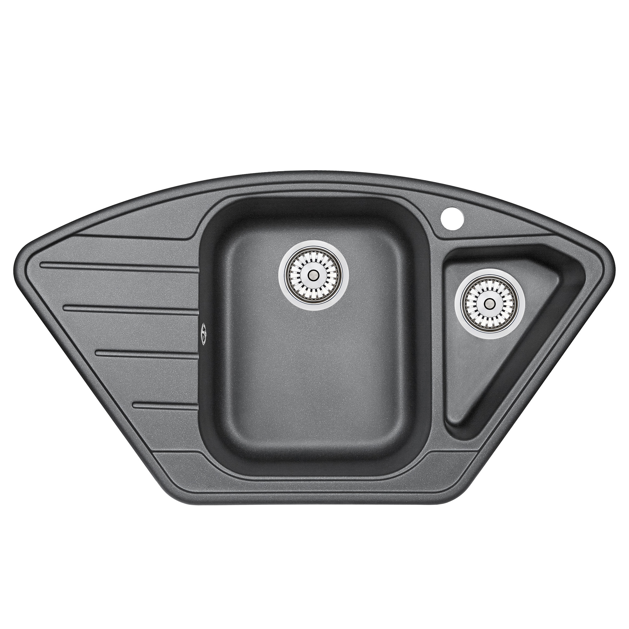 Кухонная мойка Granula GR-9101 890х490 шварц смеситель для мойки granula 1124 шварц