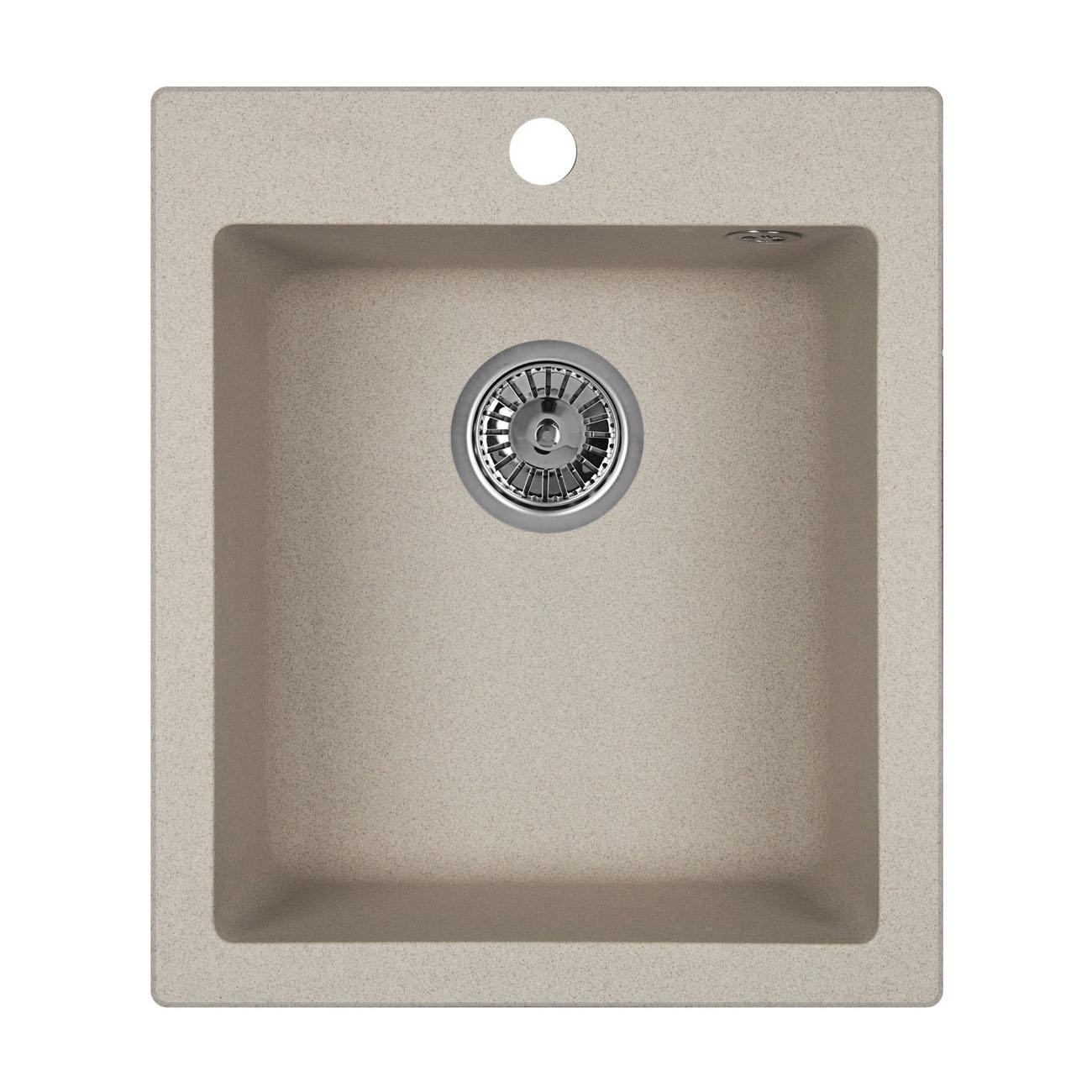 Кухонная мойка Granula GR-4201 415х490 антик