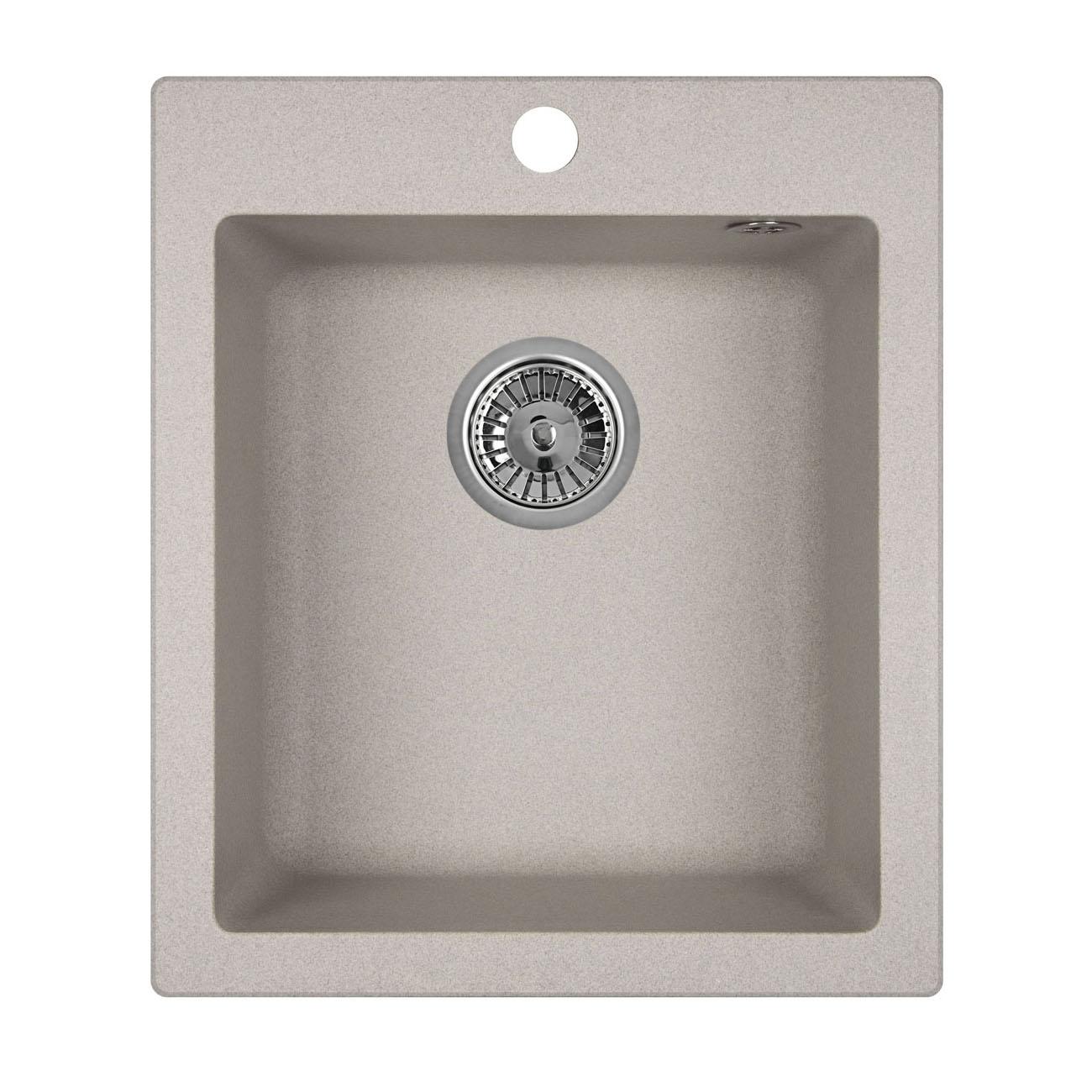 Кухонная мойка Granula GR-4201 415х490 базальт