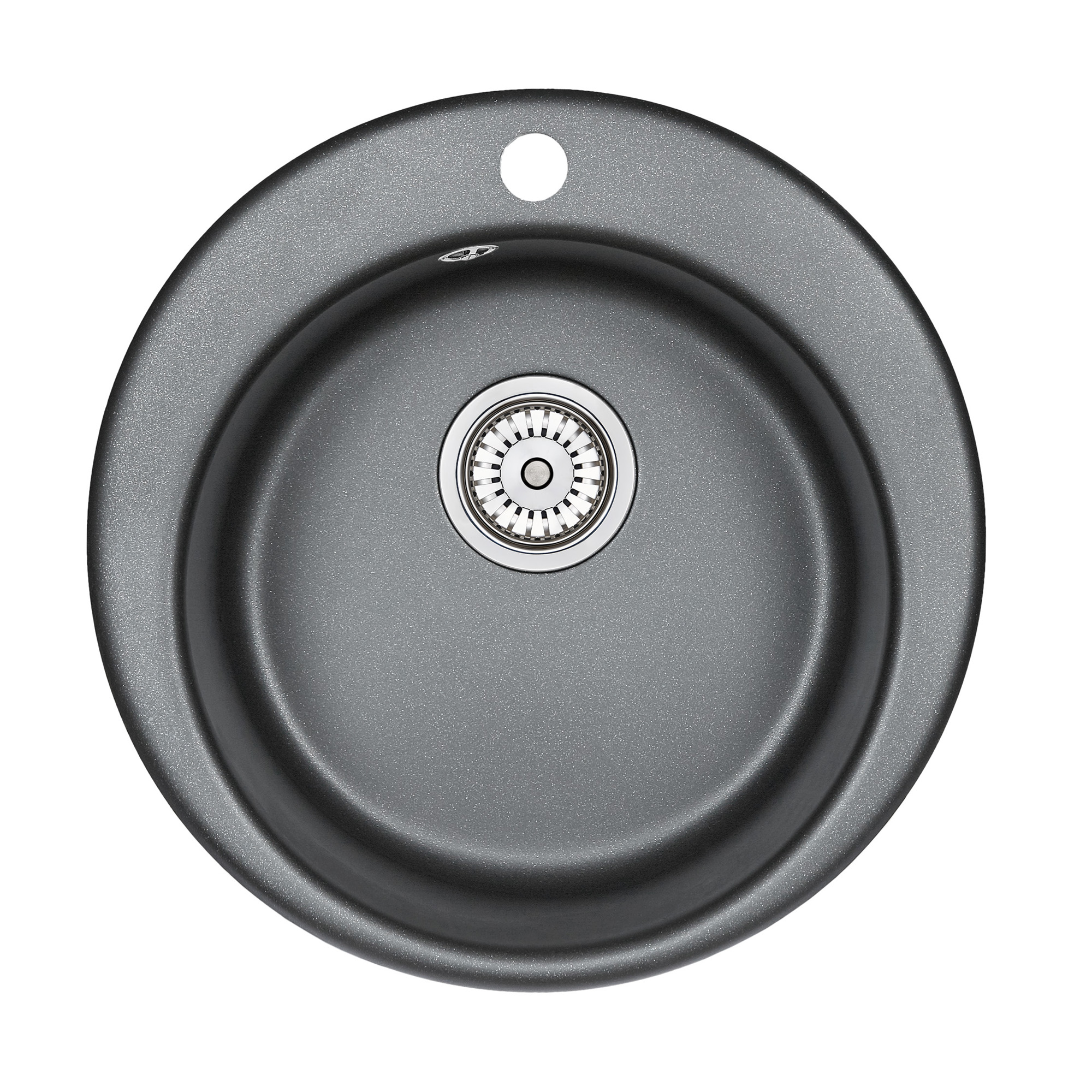 Кухонная мойка Granula GR-4801 415х490 шварц кухонная мойка teka centroval mic