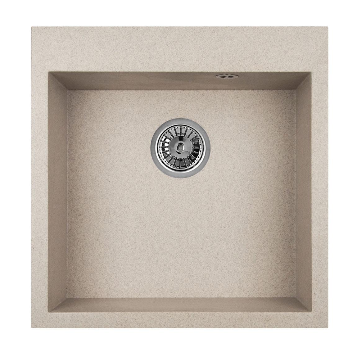 Кухонная мойка Granula GR-5102 505х510 антик кухонная мойка teka centroval mic