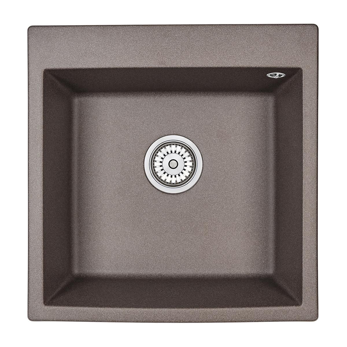 Кухонная мойка Granula GR-5102 505х510 эспрессо цена