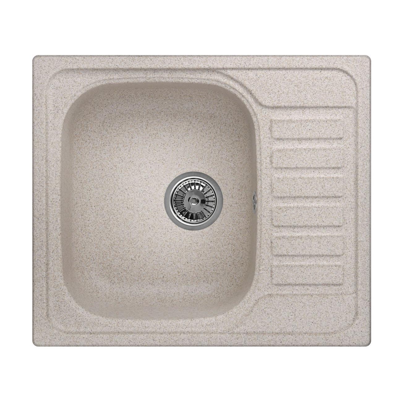 Кухонная мойка Granula GR-5801 575х495 классик кухонная мойка teka centroval mic