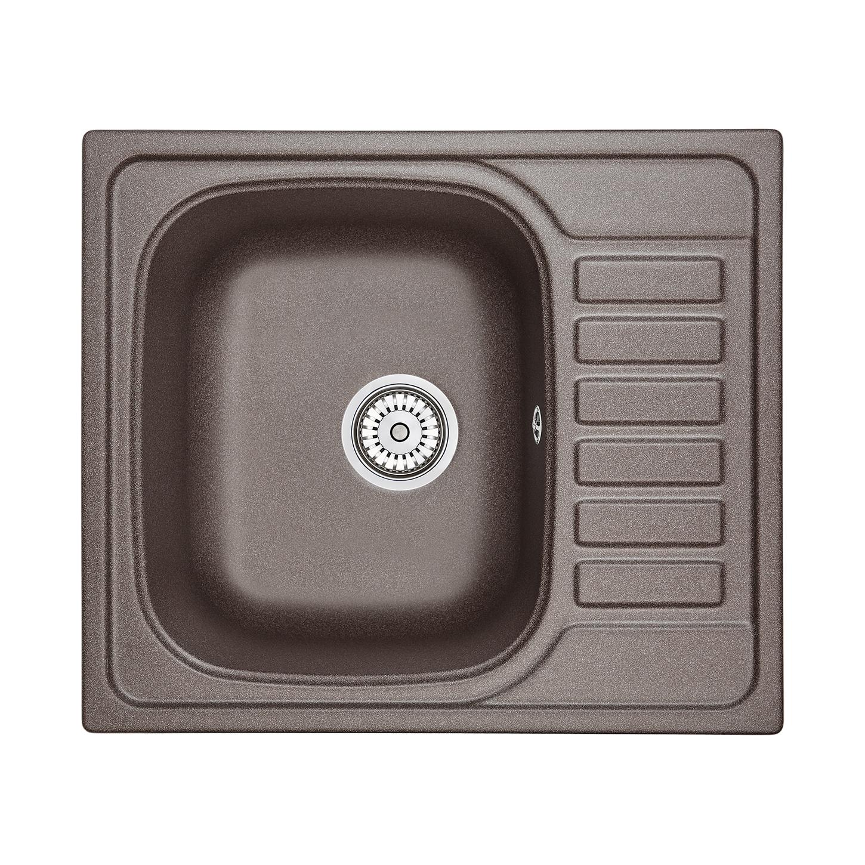 Кухонная мойка Granula GR-5801 575х495 эспрессо кухонная мойка teka classic 1b 1 2d microtex