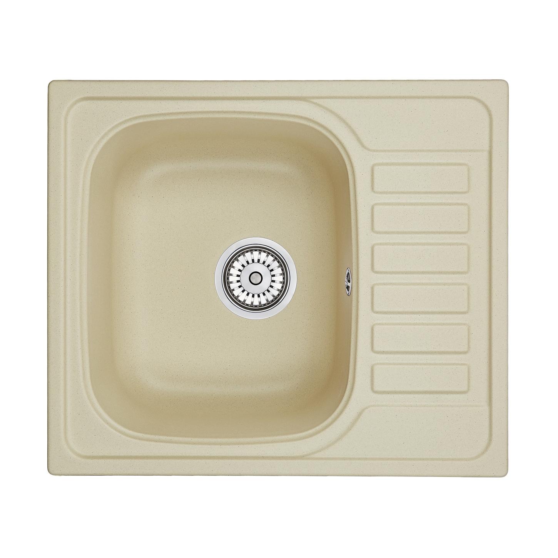 Кухонная мойка Granula GR-5801 575х495 брют кухонная мойка teka centroval mic