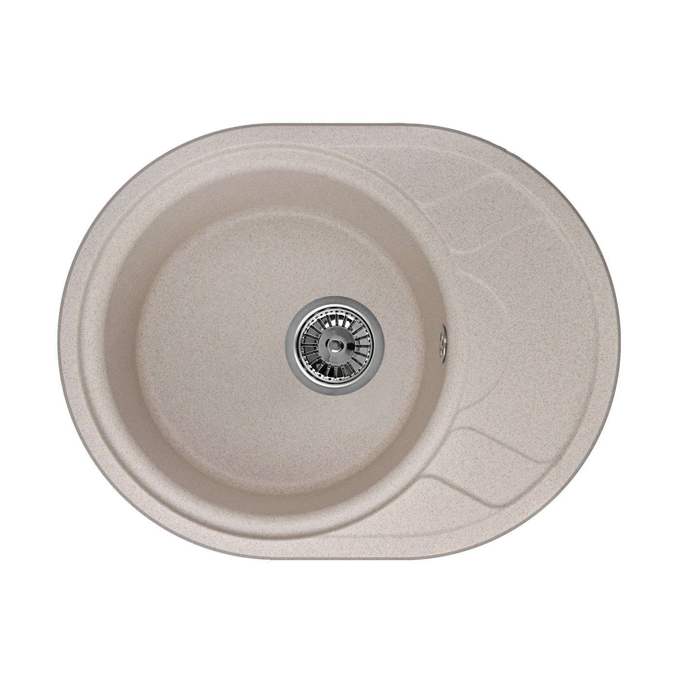 Кухонная мойка Granula GR-5802 575х445 песок кухонная мойка granula gr 6201 620х500 песок