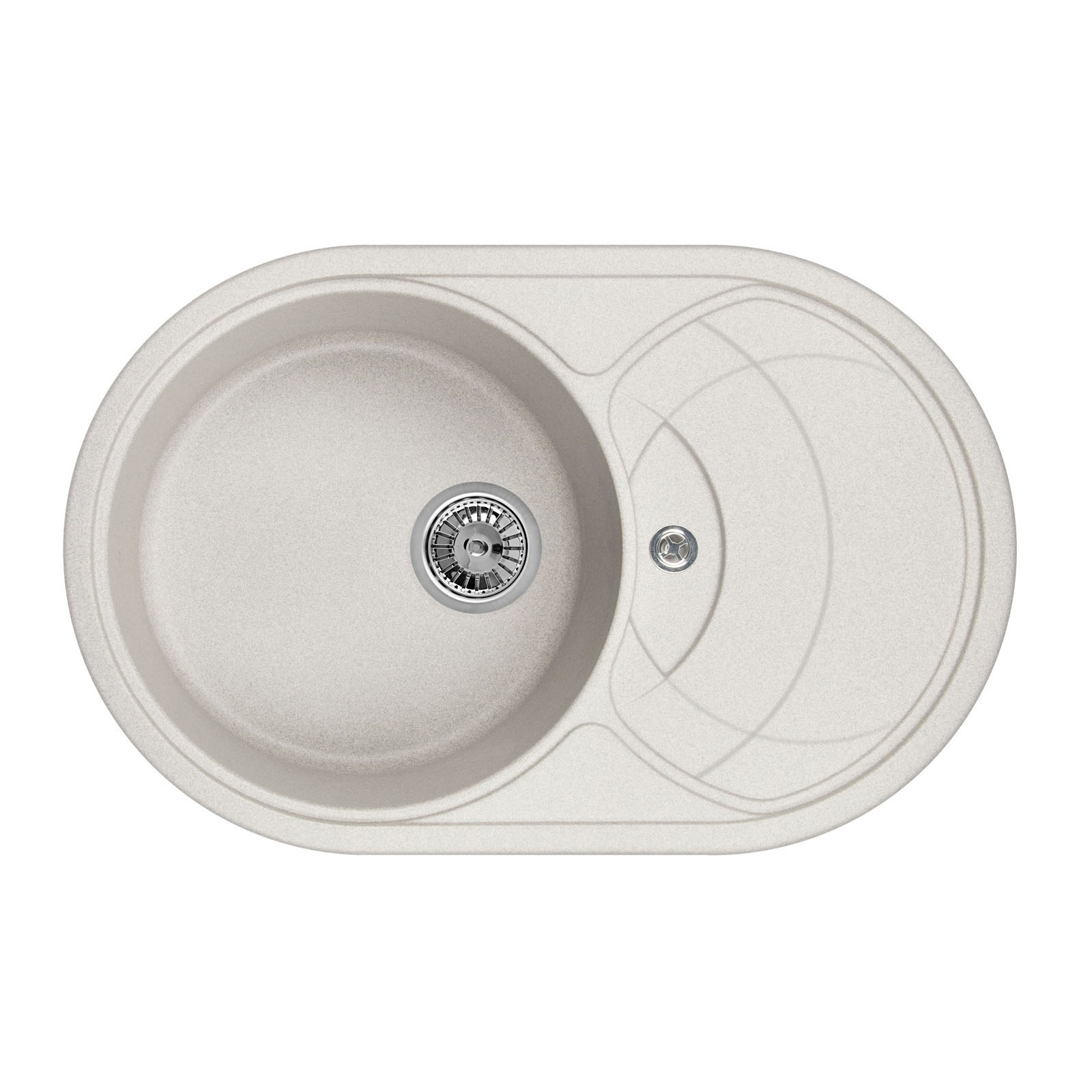 Кухонная мойка Granula GR-7801 775х495 базальт кухонная мойка teka classic 1b 1 2d microtex