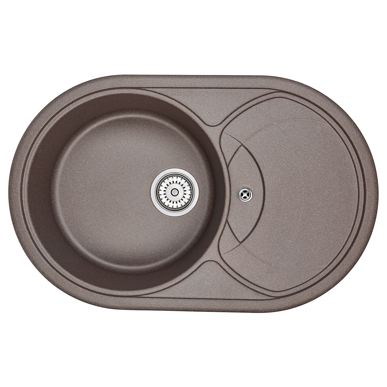 Кухонная мойка Granula GR-7801 775х495 эспрессо посуда кухонная