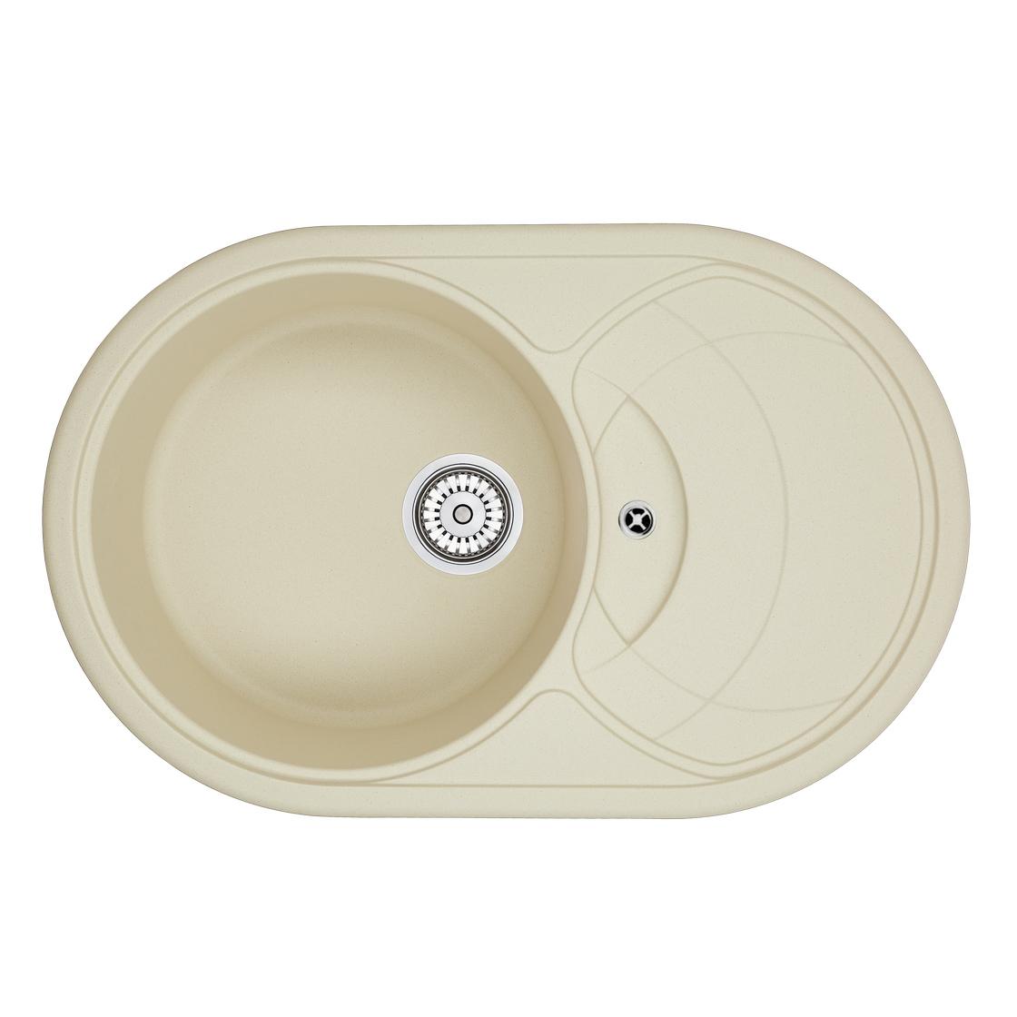 Кухонная мойка Granula GR-7801 775х495 брют кухонная мойка teka centroval mic