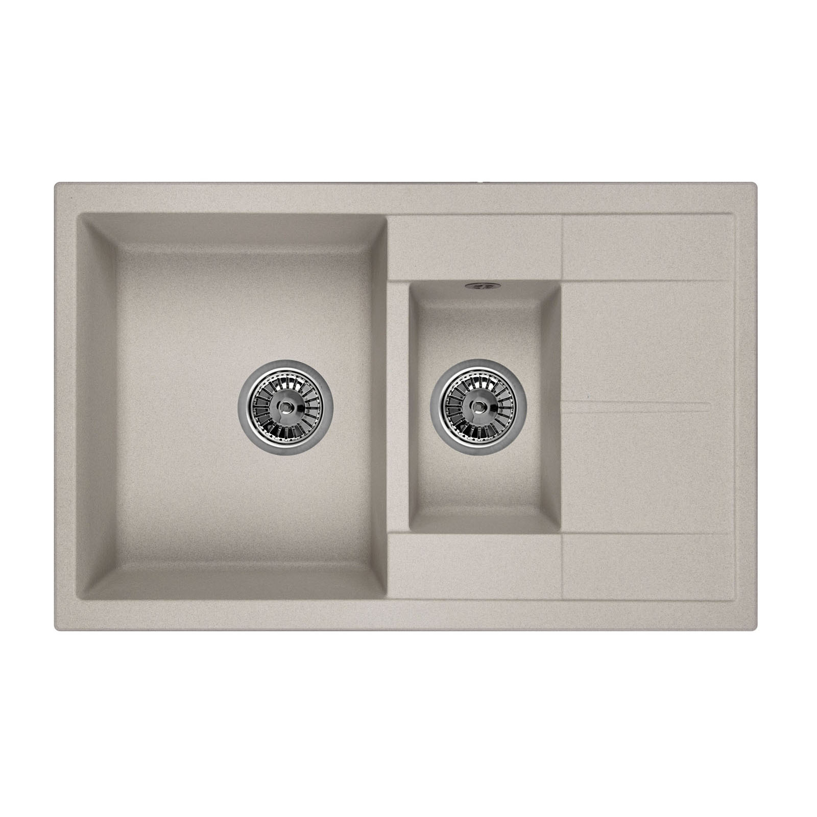 Кухонная мойка Granula GR-7802 775х495 базальт посуда кухонная
