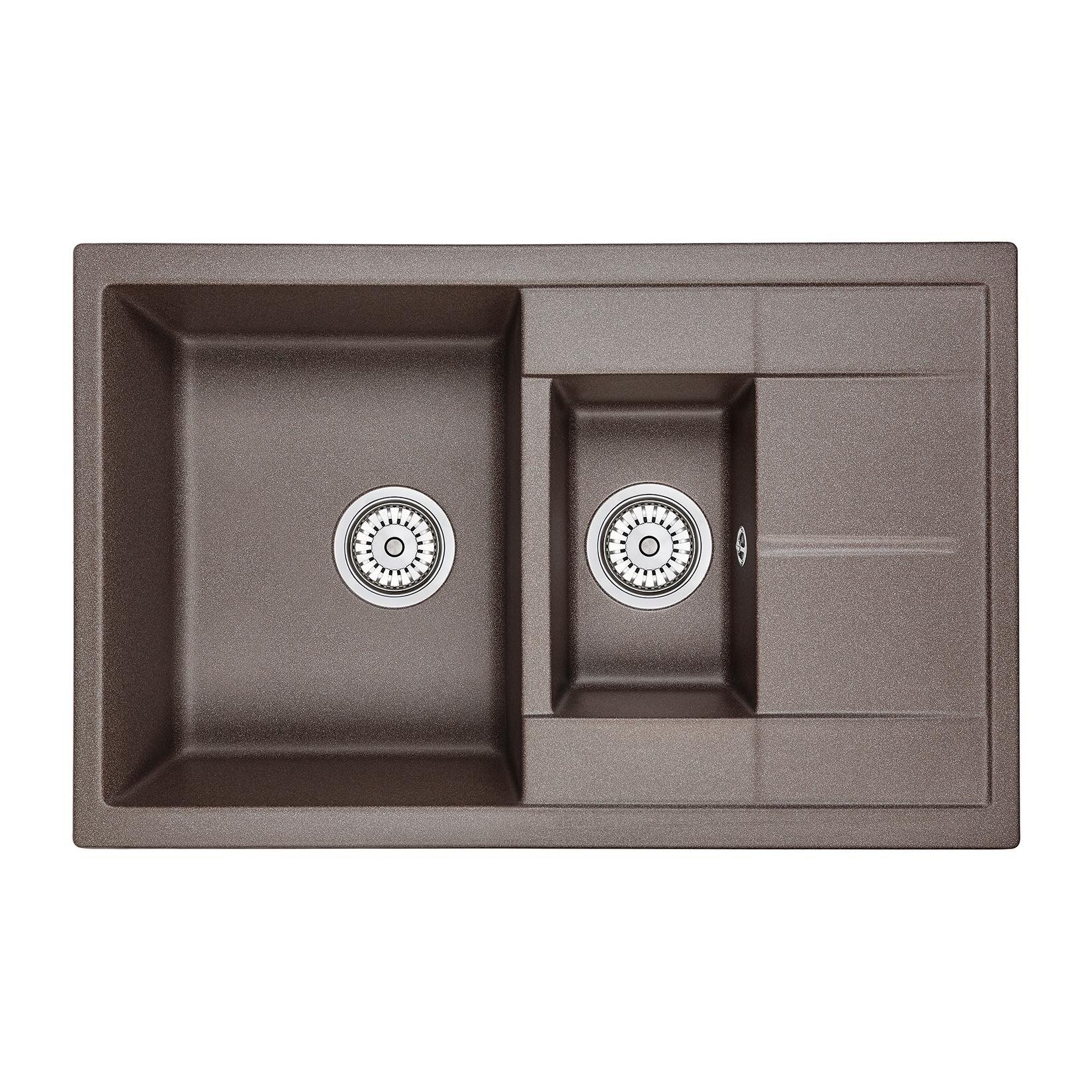 Кухонная мойка Granula GR-7802 775х495 эспрессо посуда кухонная