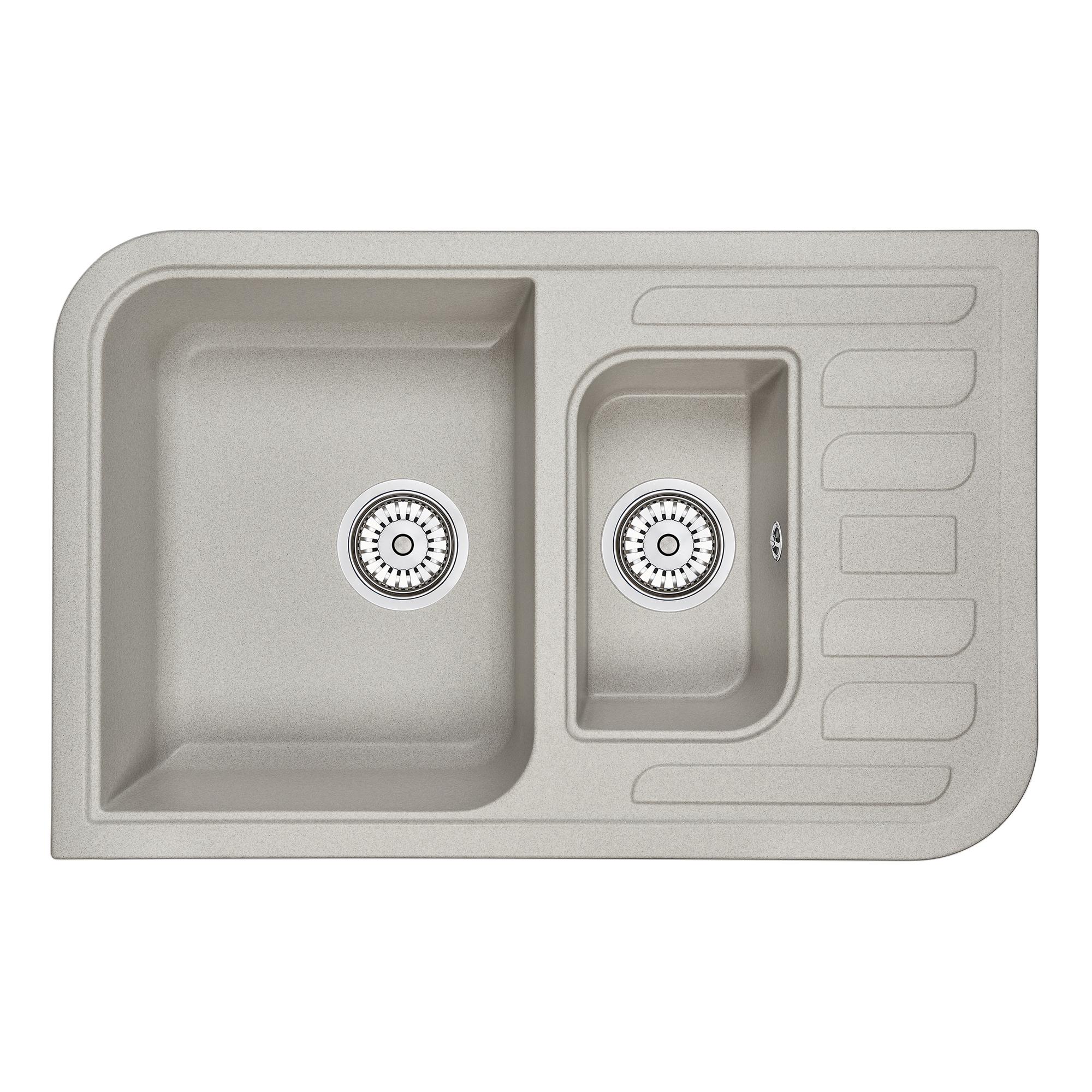 Кухонная мойка Granula GR-7803 775х495 базальт