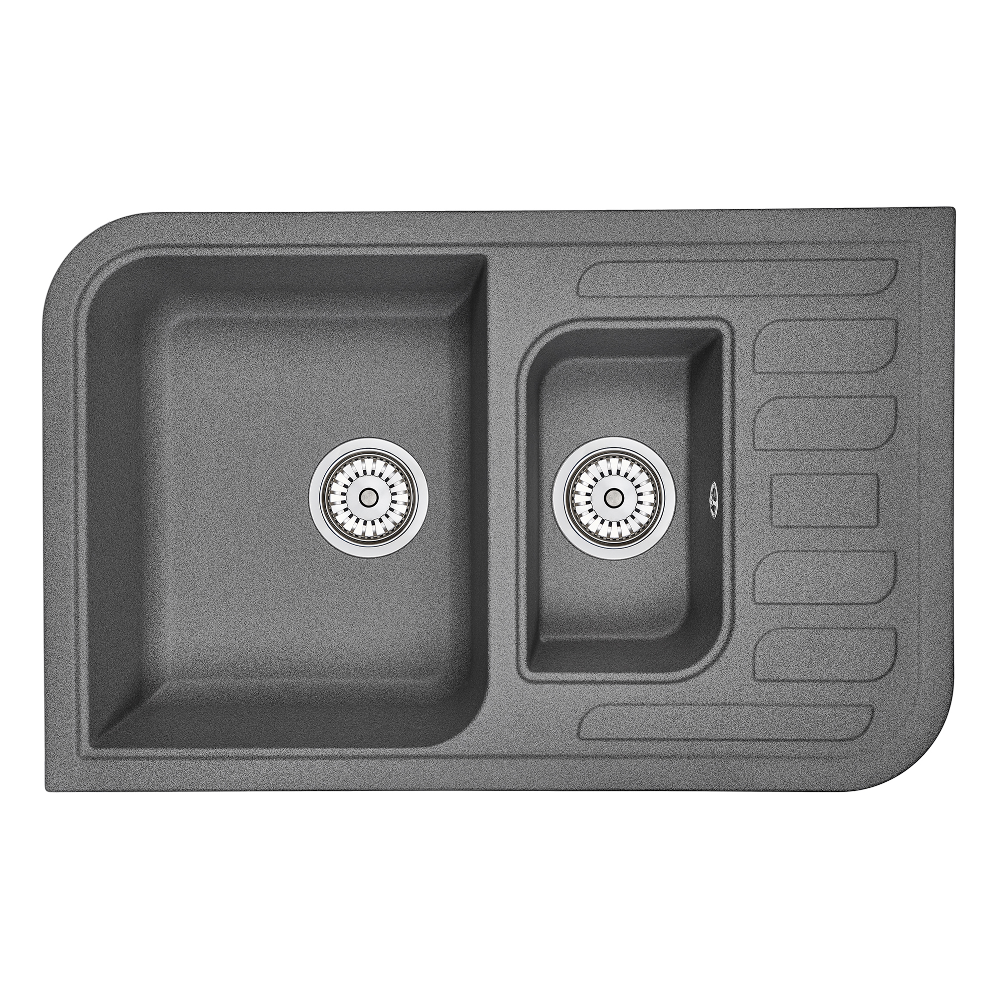 Кухонная мойка Granula GR-7803 775х495 графит