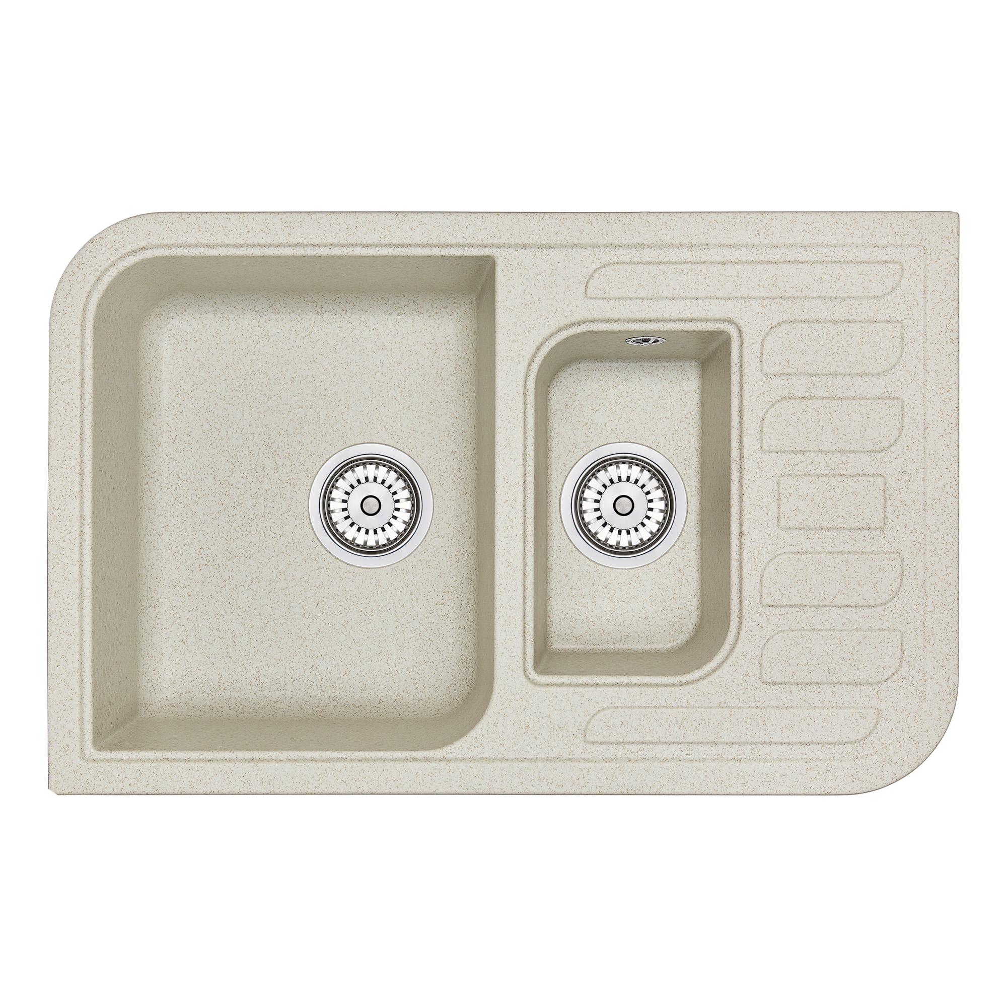 Кухонная мойка Granula GR-7803 775х495 пирит
