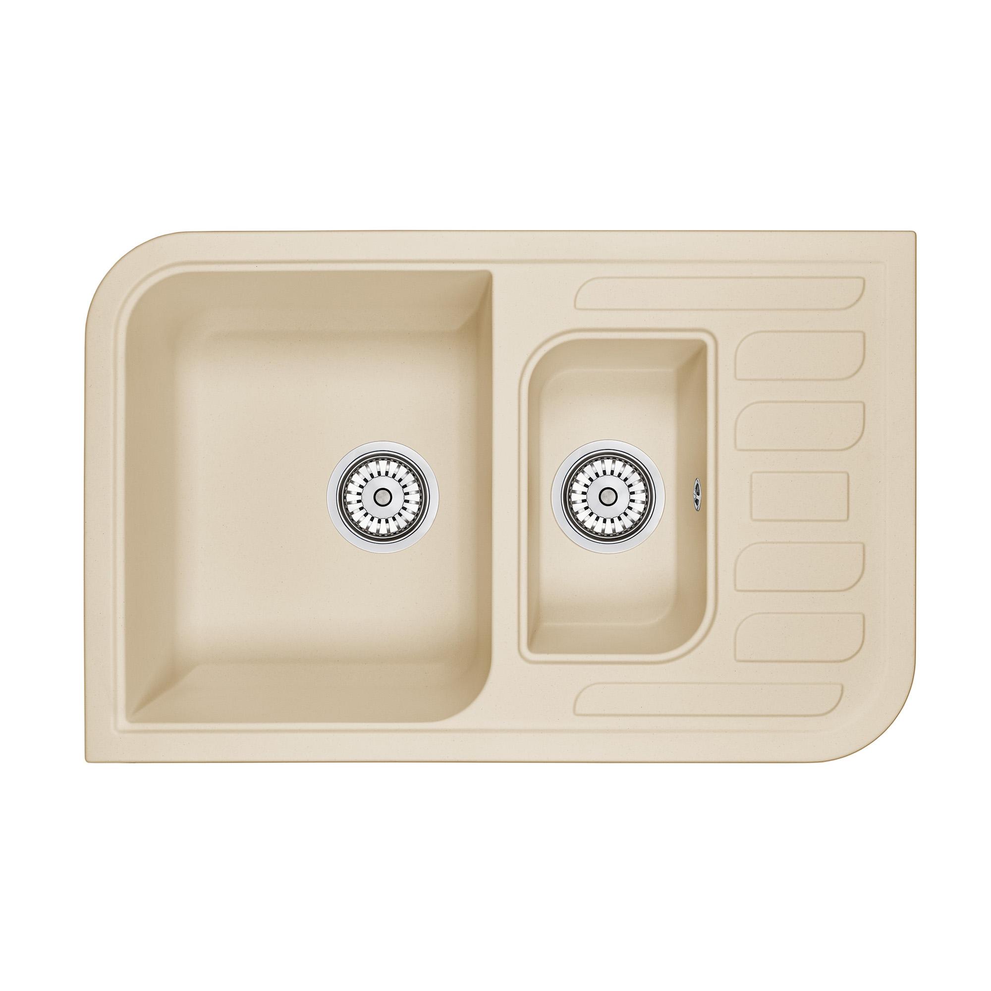 Кухонная мойка Granula GR-7803 775х495 брют