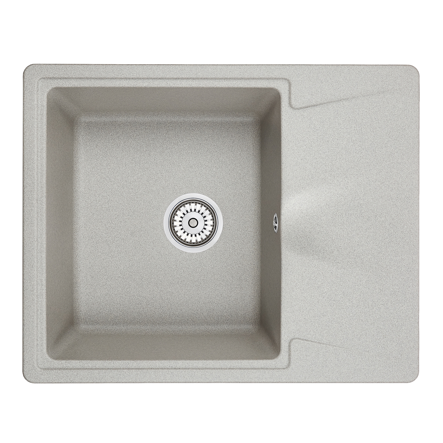 Кухонная мойка Granula GR-6201 620х500 базальт кухонная мойка teka centroval mic