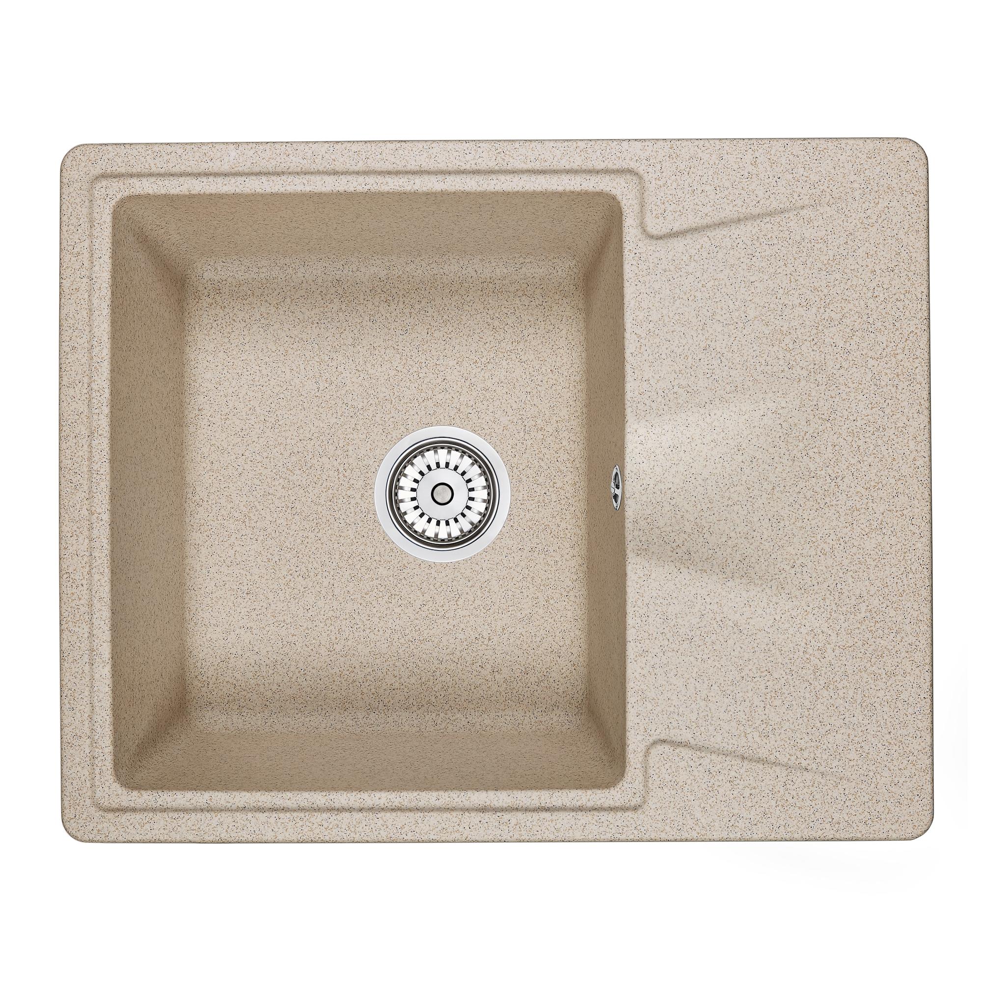 Кухонная мойка Granula GR-6201 620х500 классик кухонная мойка teka centroval mic