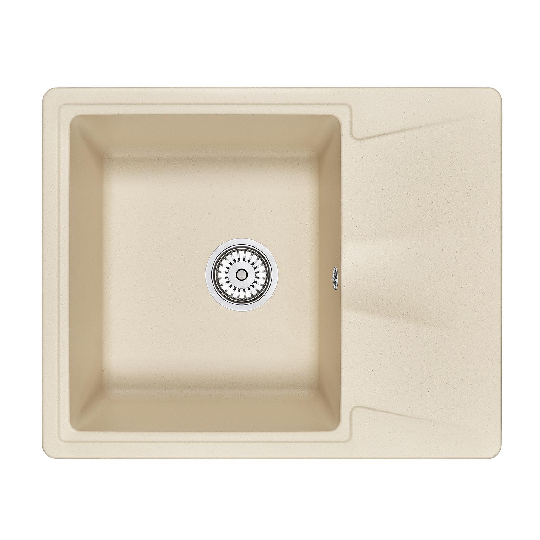 Кухонная мойка Granula GR-6201 620х500 брют кухонная мойка teka centroval mic