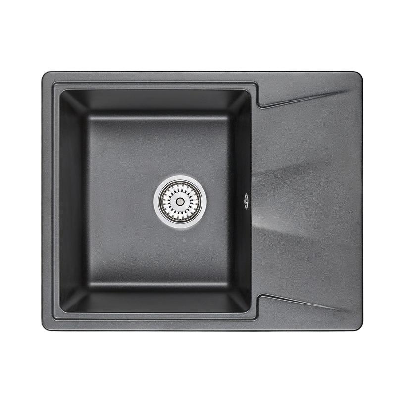 Кухонная мойка Granula GR-6201 620х500 шварц смеситель для мойки granula 1124 шварц