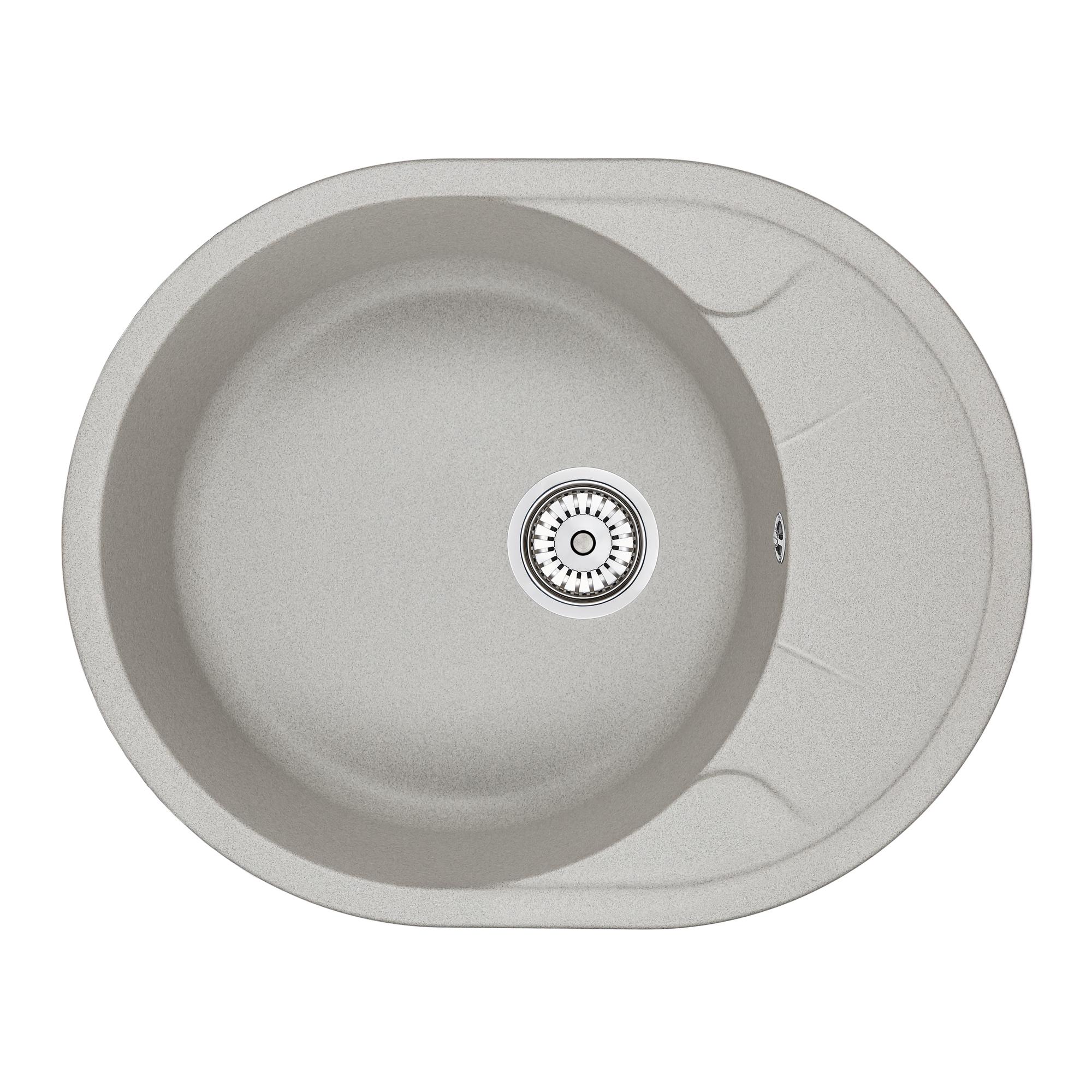 Кухонная мойка Granula GR-6301 630х500 базальт кухонная мойка teka centroval mic