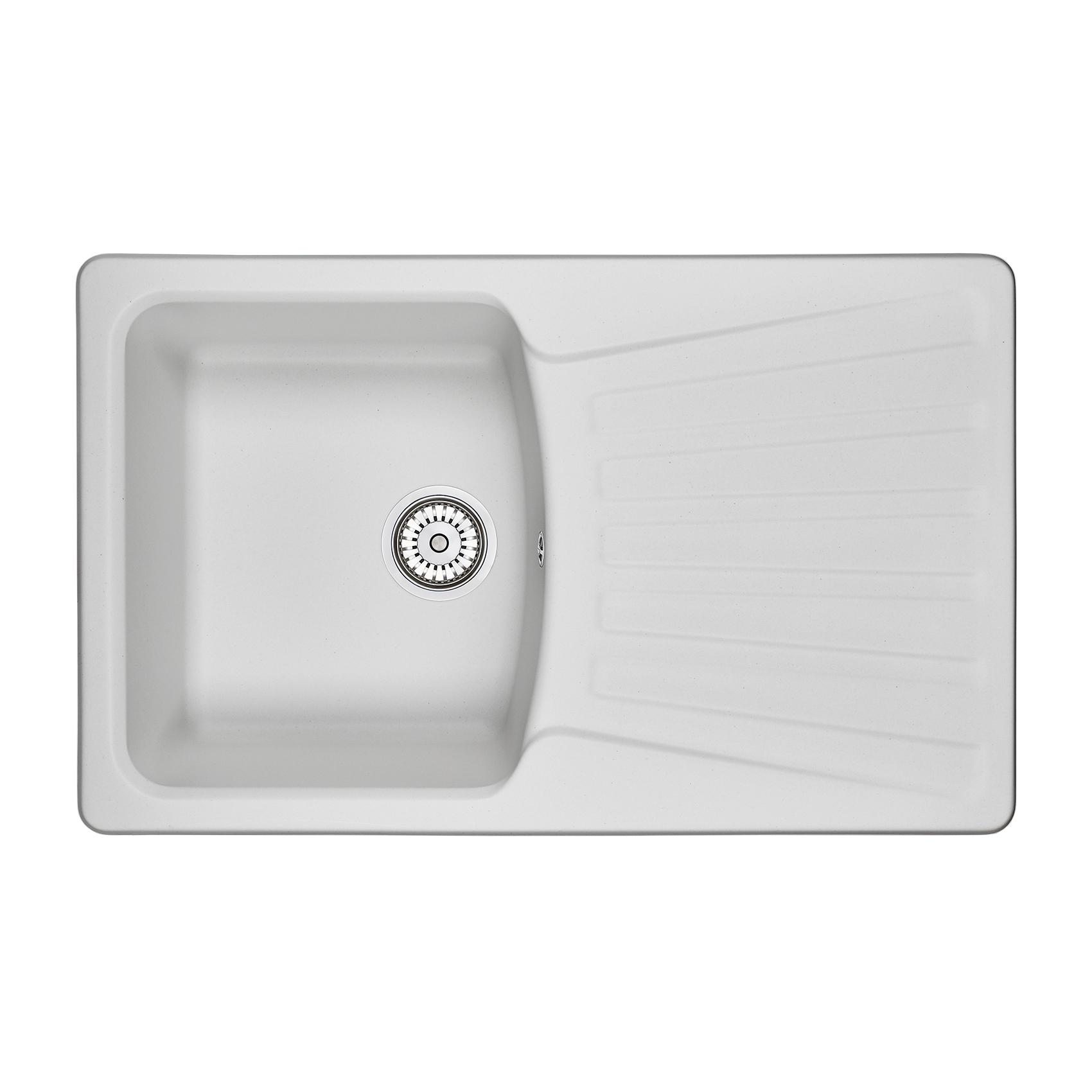 Кухонная мойка Granula GR-8001 790х500 арктик посуда кухонная