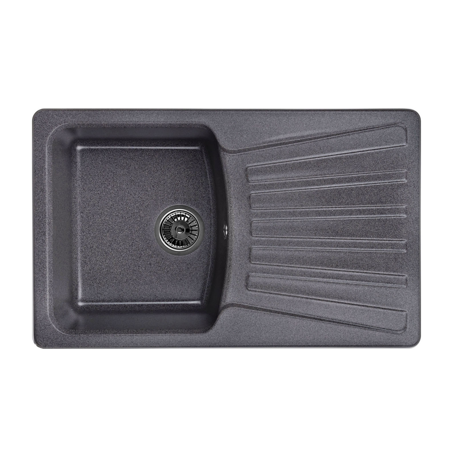 Кухонная мойка Granula GR-8001 790х500 графит кухонная мойка granula gr 8001 790х500 брют