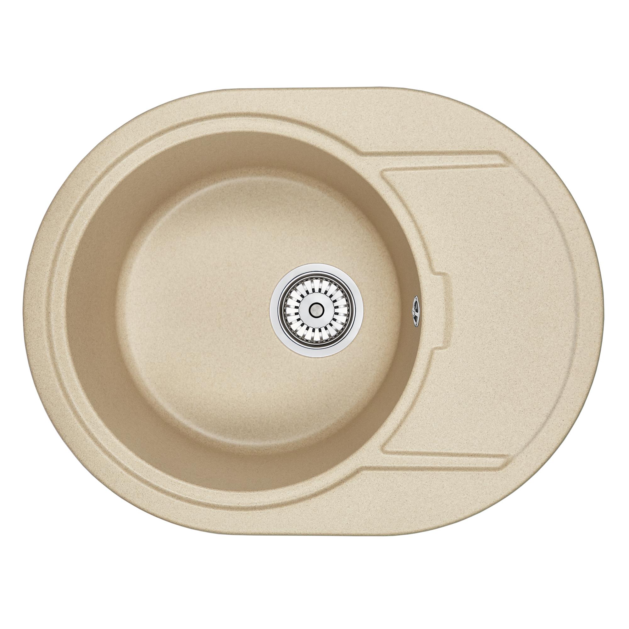 Кухонная мойка Granula GR-6502 650х500 песок кухонная мойка granula gr 6201 620х500 песок