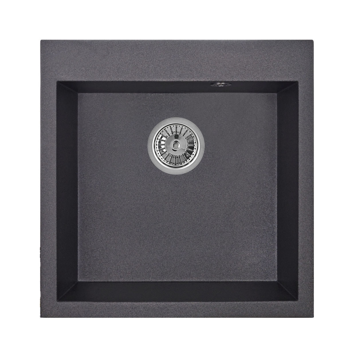 Кухонная мойка Granula GR-5102 505х510 черный цена