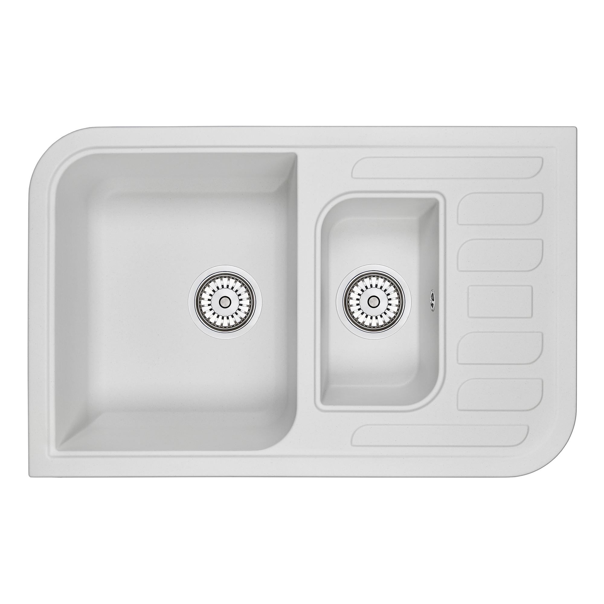 Кухонная мойка Granula GR-7803 775х495 арктик
