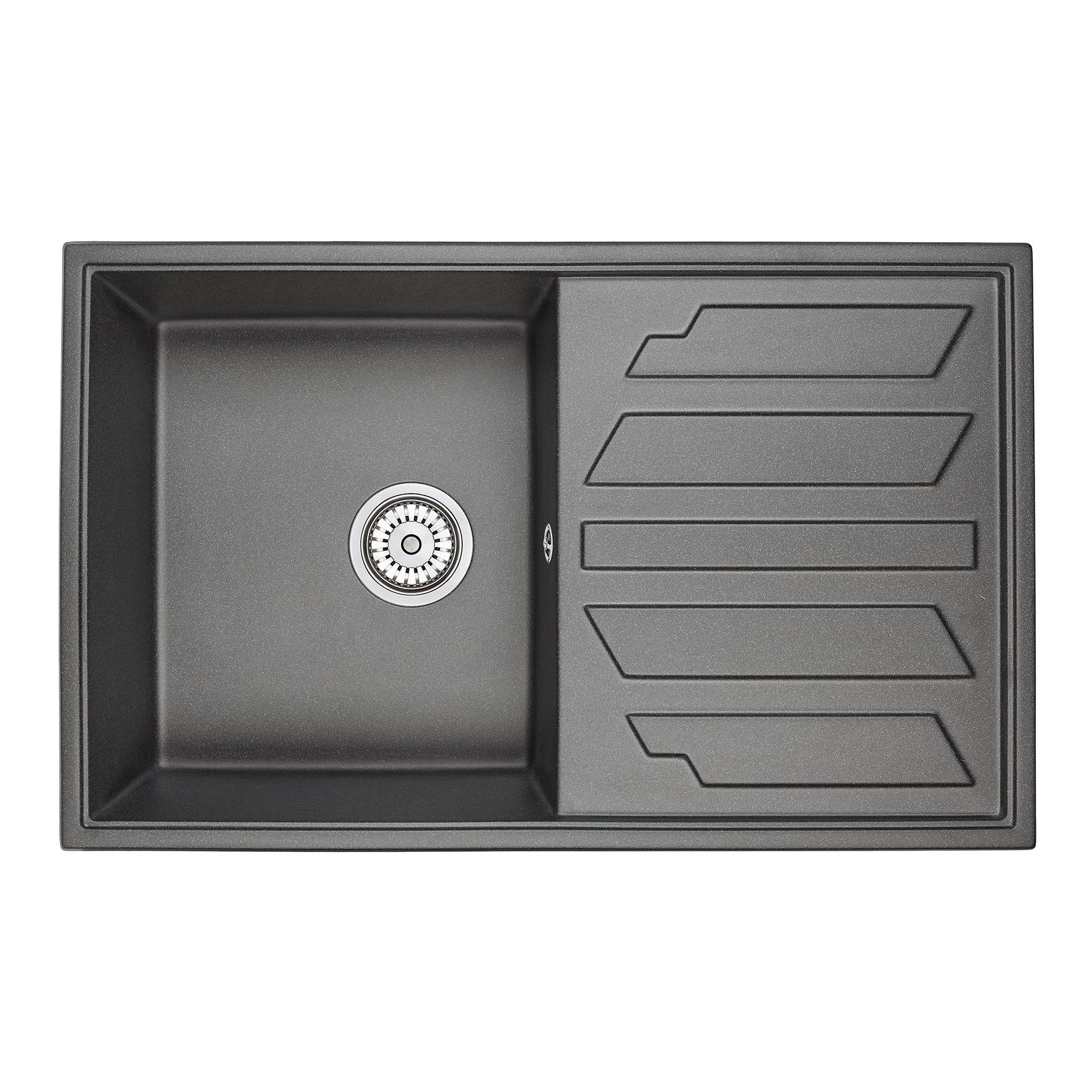Кухонная мойка Granula GR-8002 790х500 черный одежда больших размеров baa linda dress 8002 mm 2015