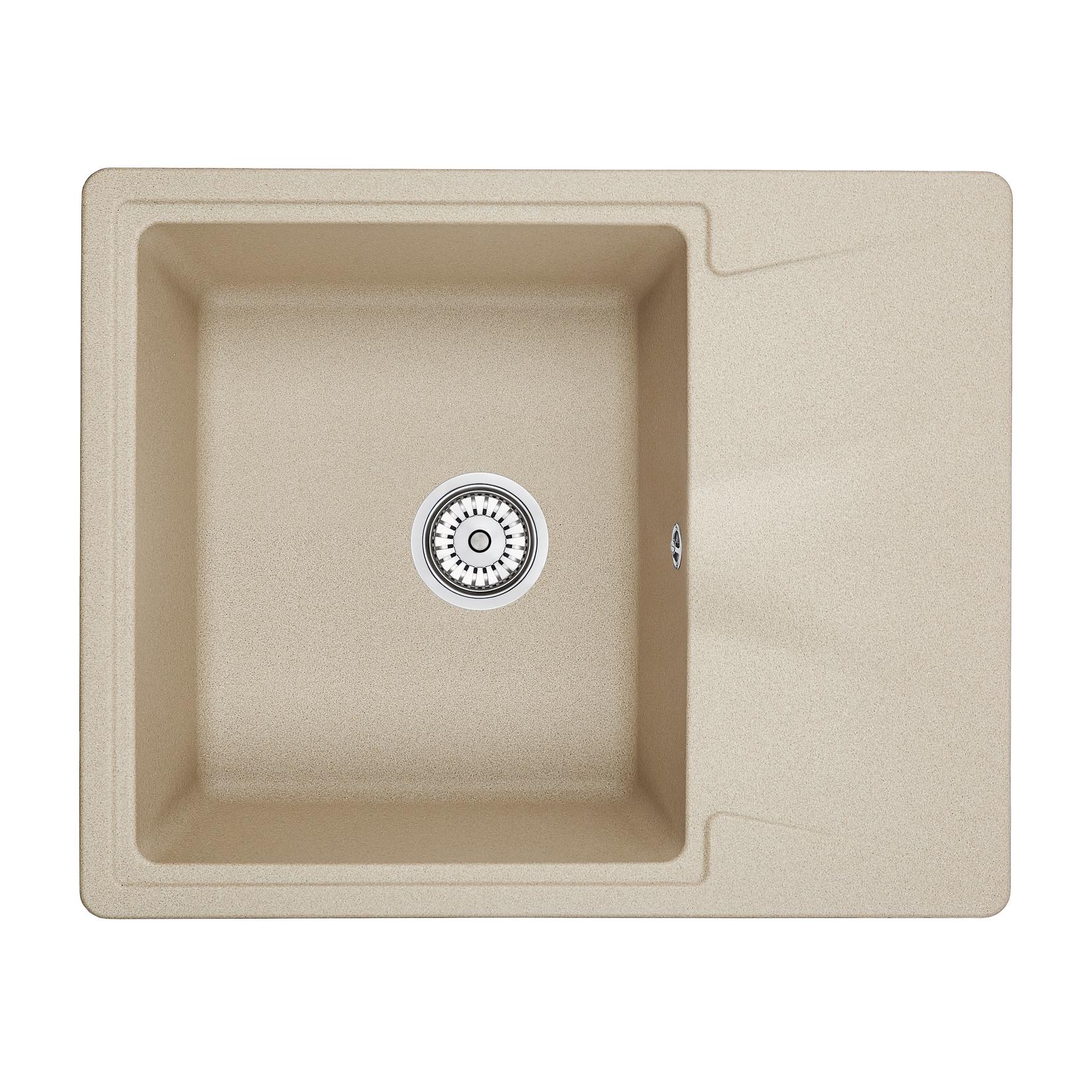 Кухонная мойка Granula GR-6201 620х500 песок кухонная мойка granula gr 6201 620х500 песок
